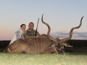 So. AFrica #6 huge kudu Tyson R. 2014